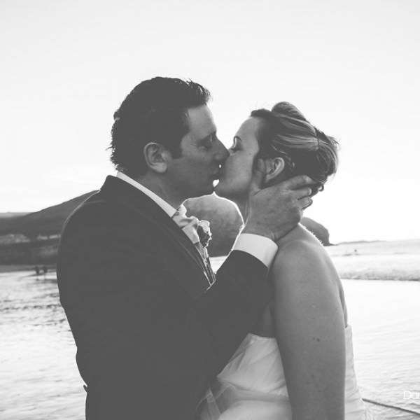 The Beautiful Cornish Wedding of Jess and Salvie