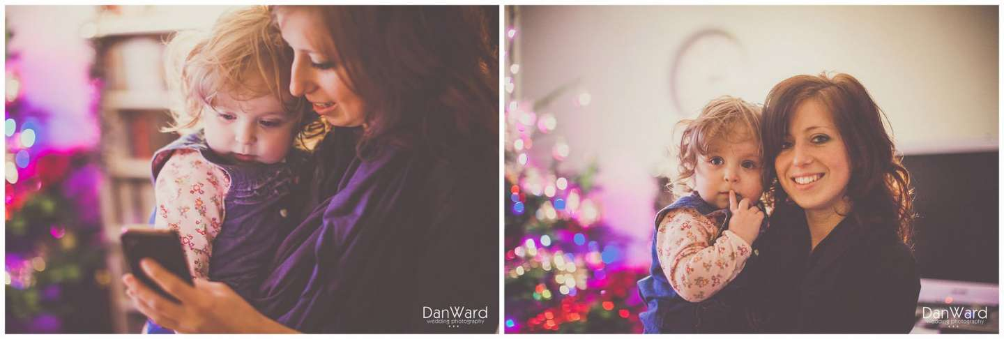 Cornish Wedding Family Photography Diptych