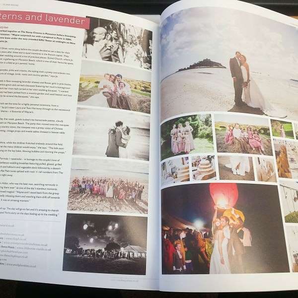 Jo and Wayne's Beautiful Wedding Featured in WED magazine!