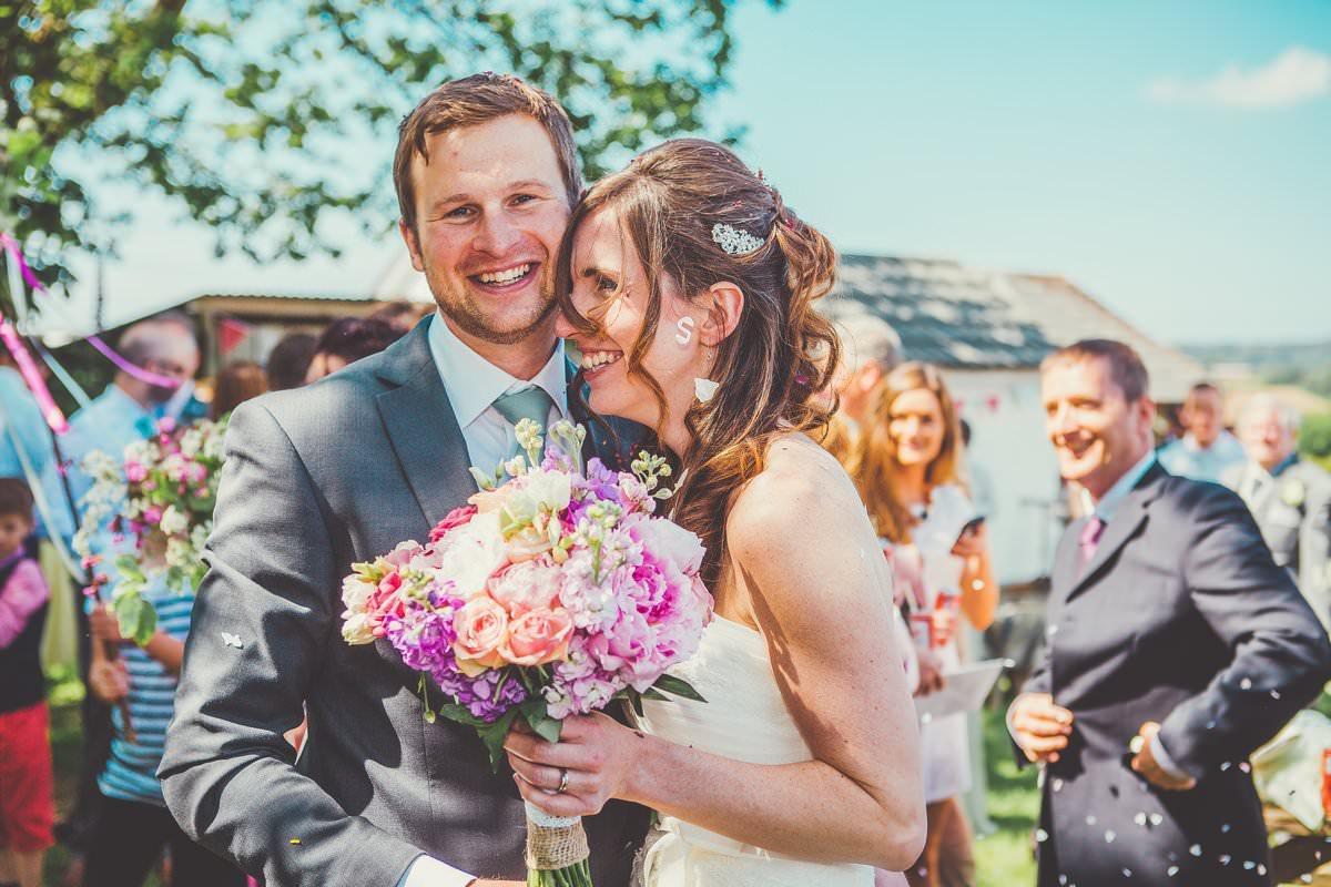 Wedding Photographer Cornwall Trenderway Farm