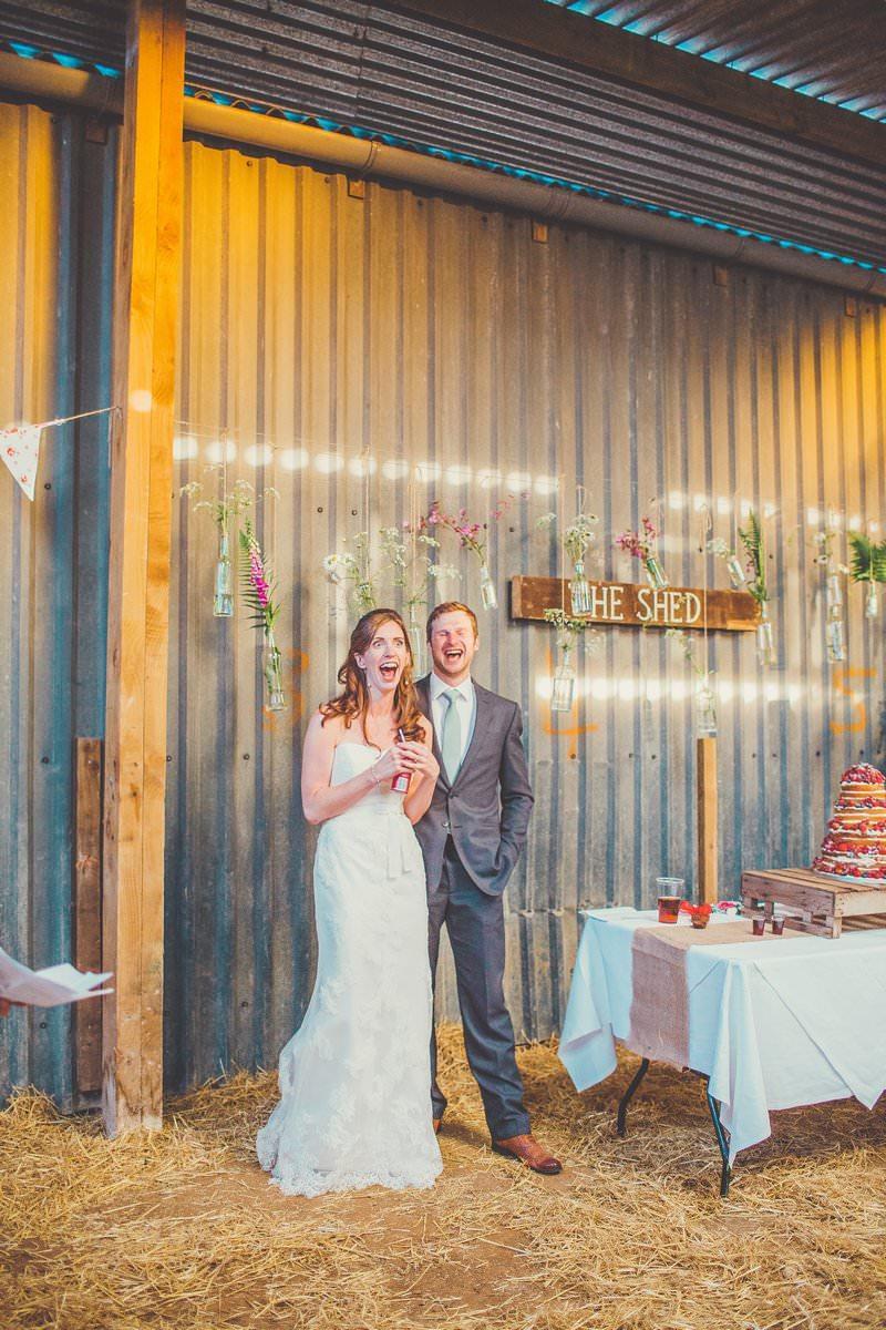 Wedding Photography Cornwall Mel and Luke at Trenderway Farm