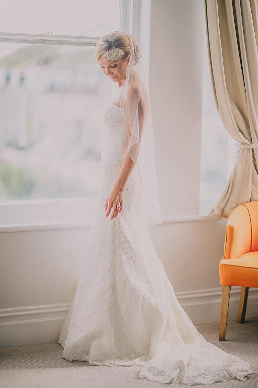 St Ives weding photography Bridal Prep