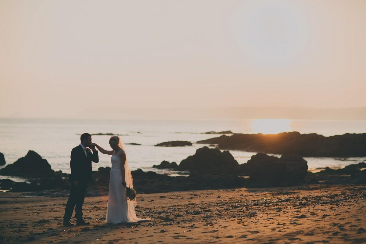 Wedding photography at Polpier and Penpol Mevagissy