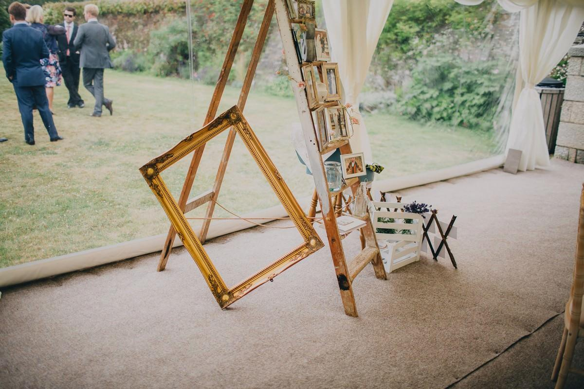 Pentillie Castle Wedding Photographer in Cornwall