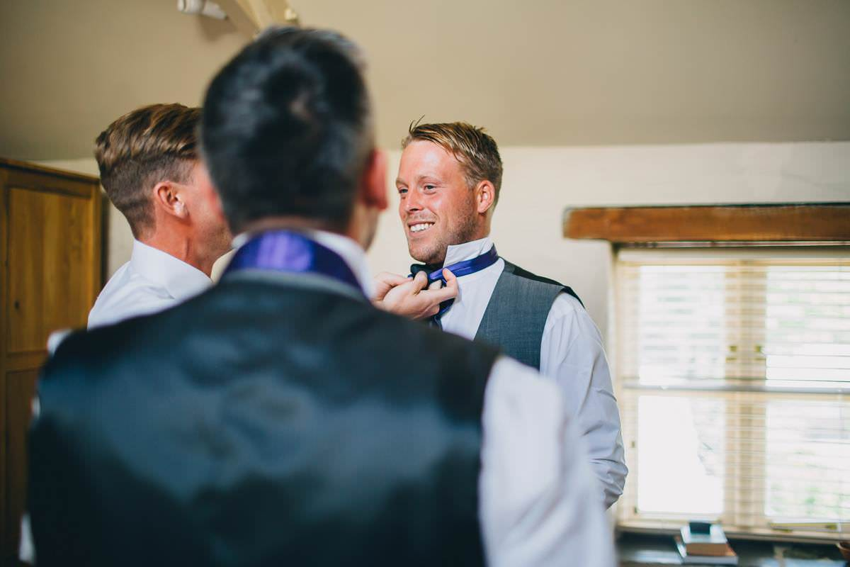 wedding photographer cornwall at trenderway farm