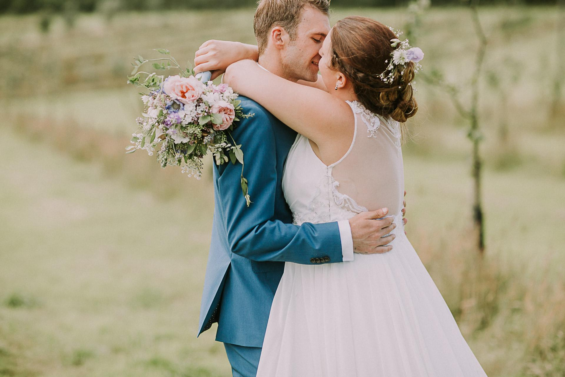 Cornwall Wedding Photographer - Trenderway Farm - Hope - Tom