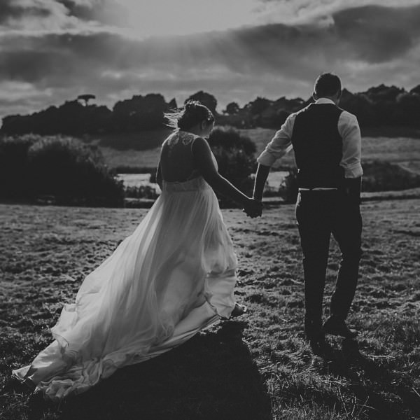 Hope and Tom - Trenderway Farm Wedding