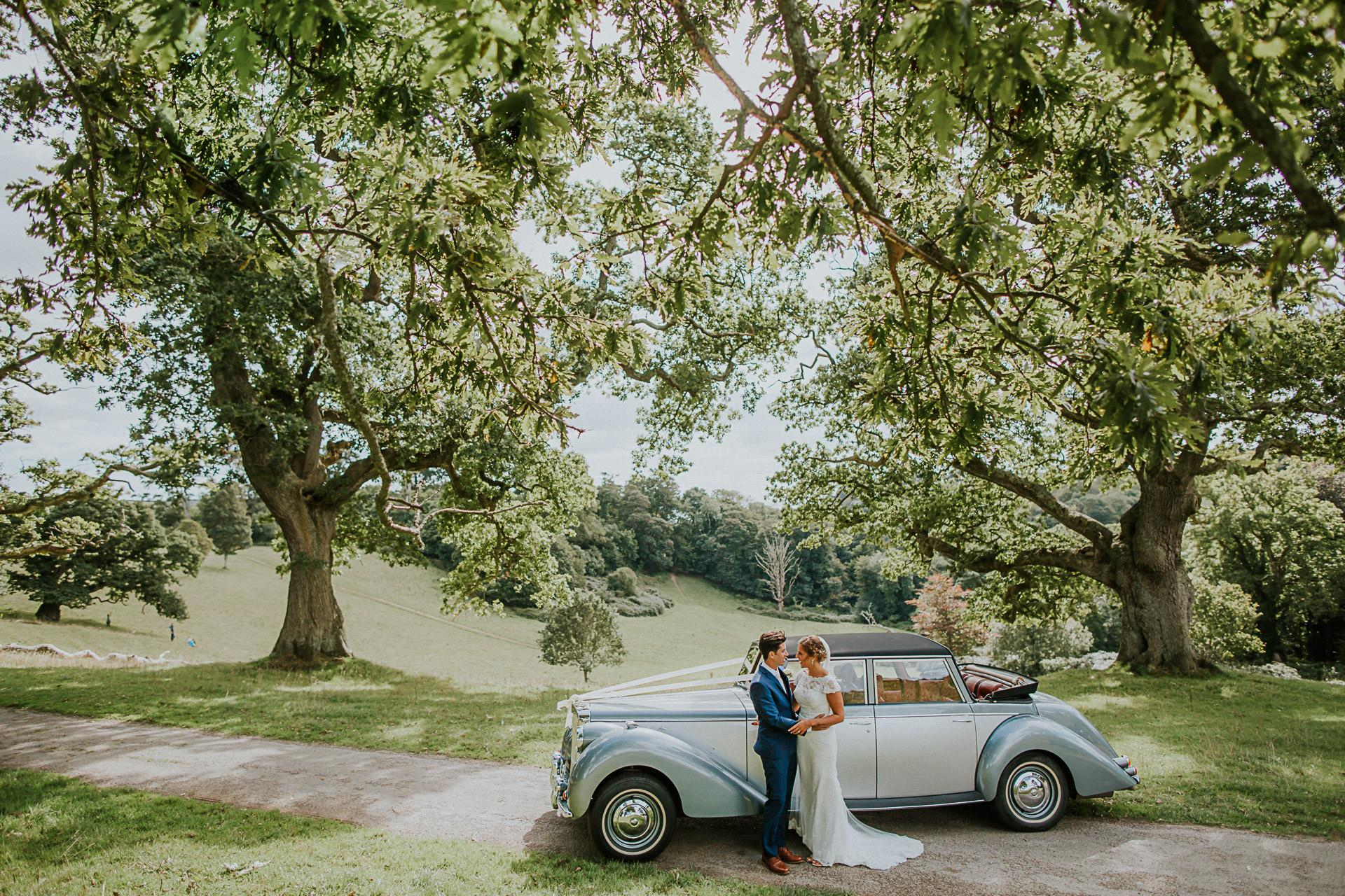 Cornwall Wedding Photographer - Kristina and Andrew Trelissick Gardens