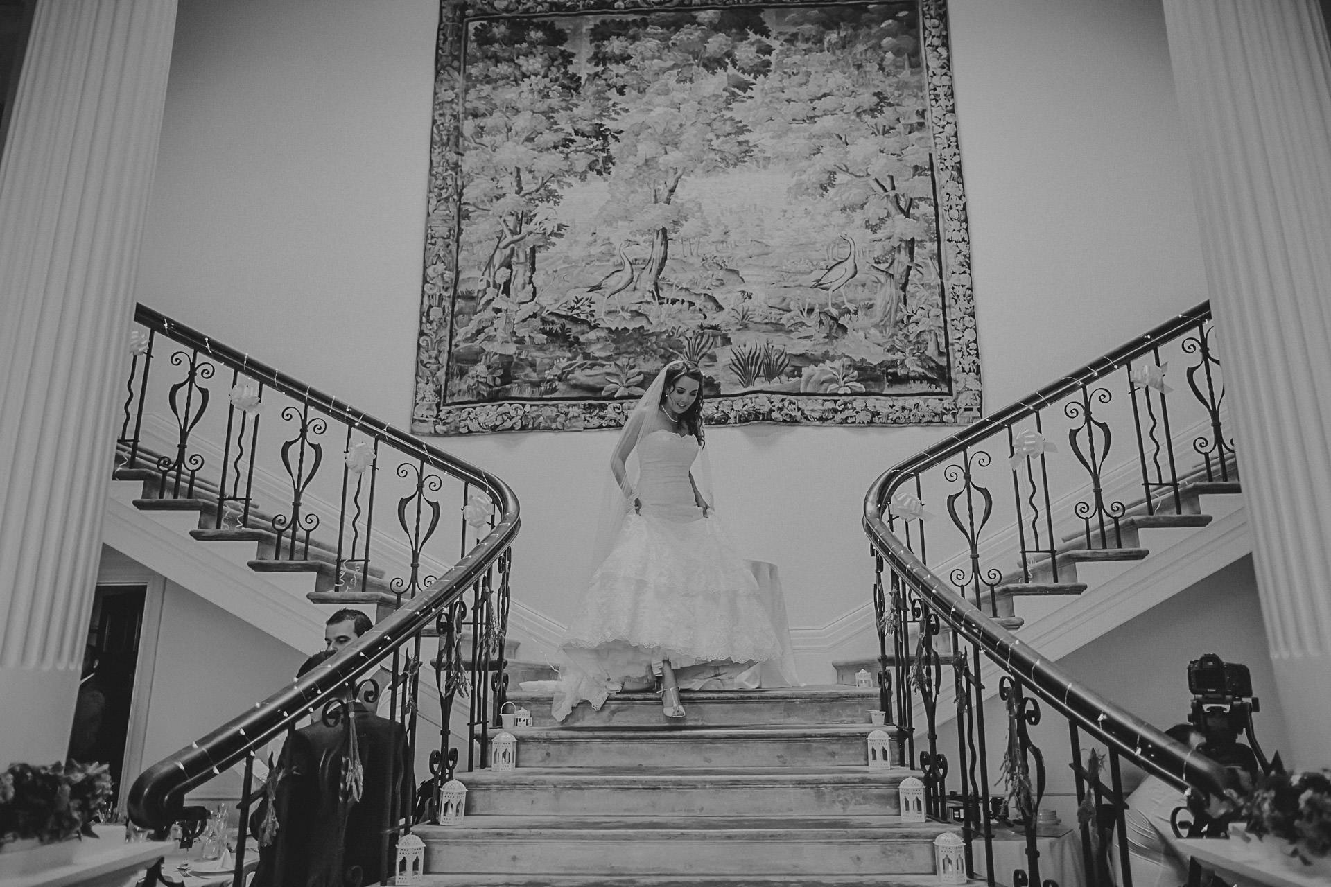 Scorrier House wedding photographer Dan Ward
