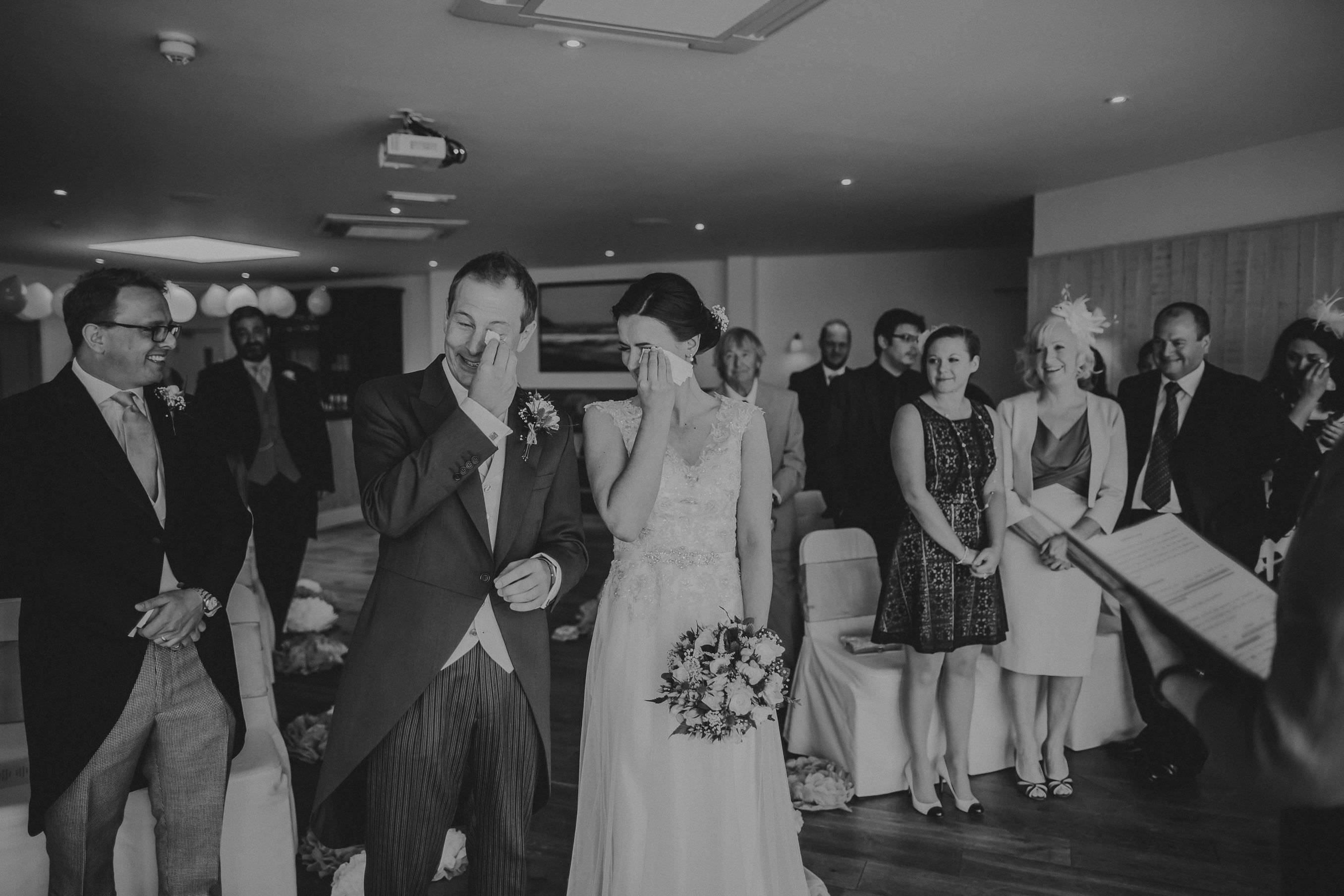watergate bay wedding photographer