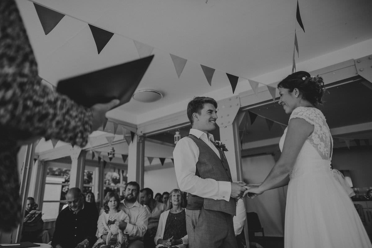 branksome dene wedding