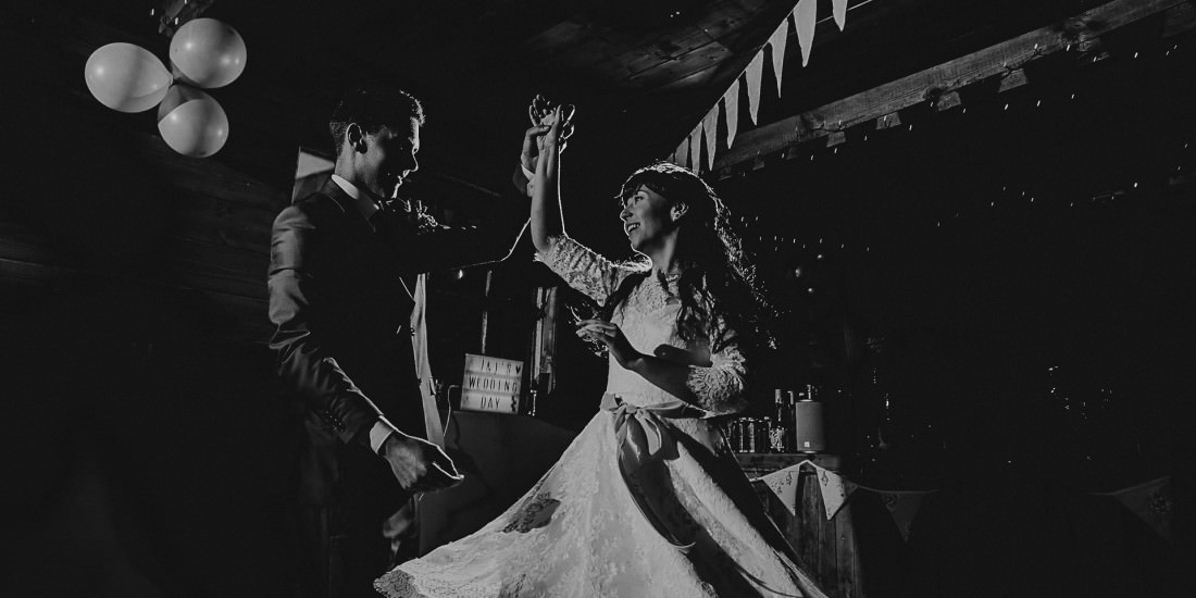 Wedding Photographer Cornwall Epic first dance