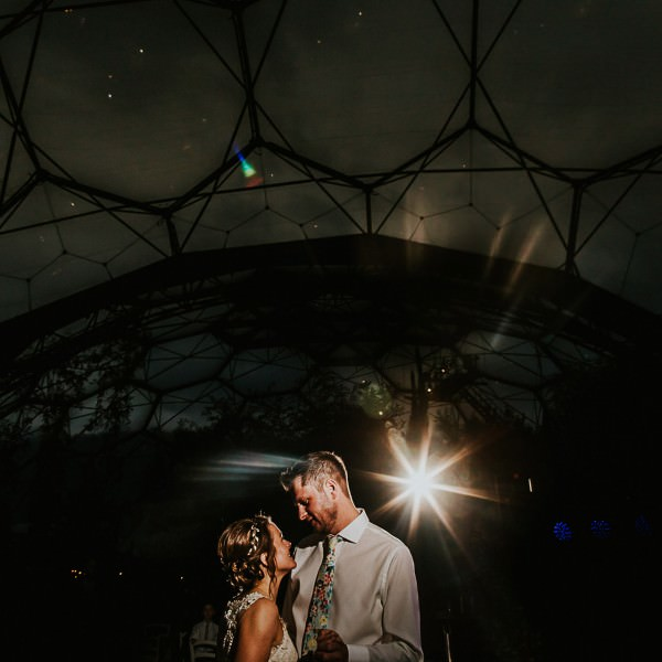 Katharine and Chris - Eden Project Wedding Preview