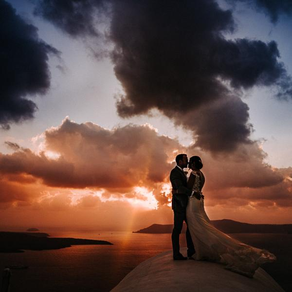 Nicole and Scott - Santorini Wedding Photography Preview