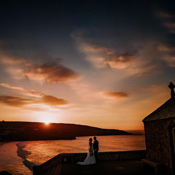 Nic and Jess Preview - Wedding Photographer St Ives Cornwall