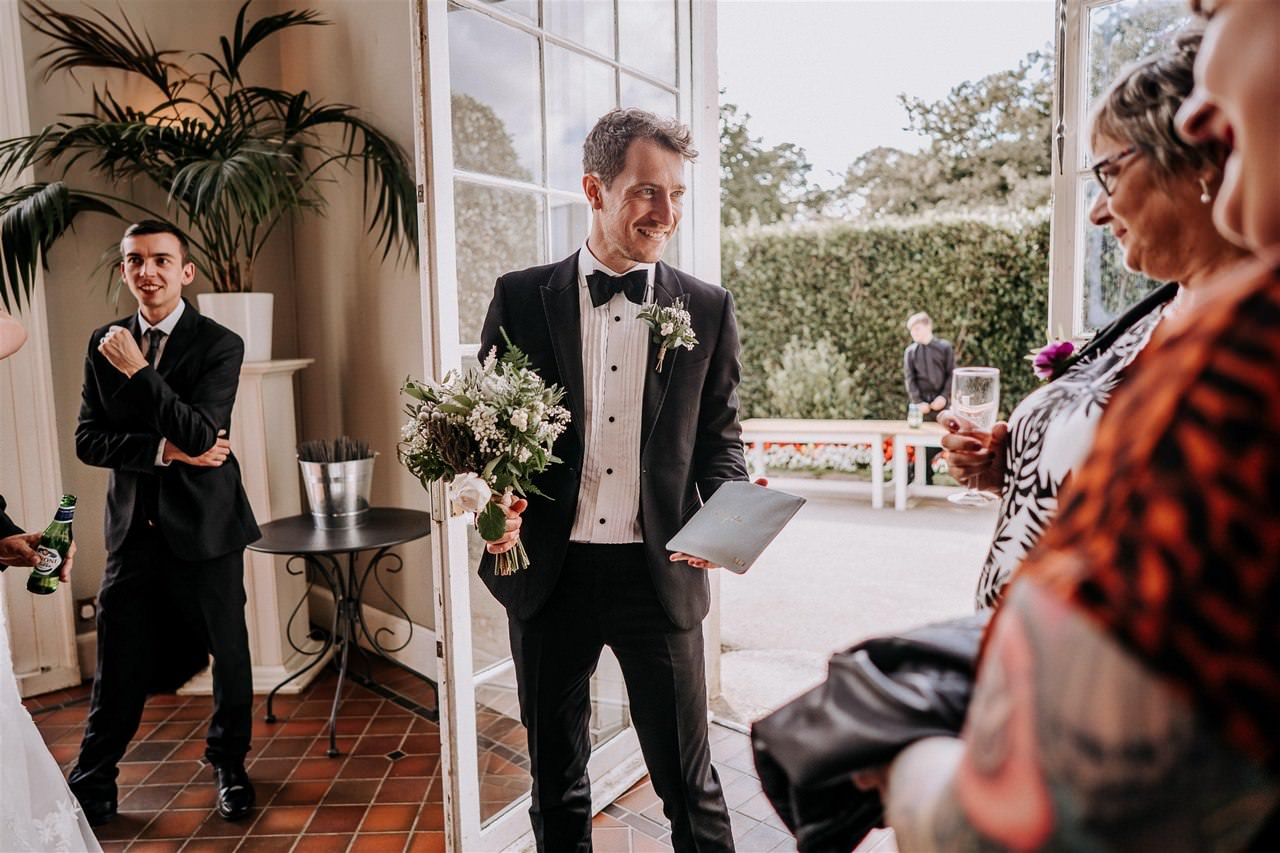 Mount Edgcumbe House Wedding
